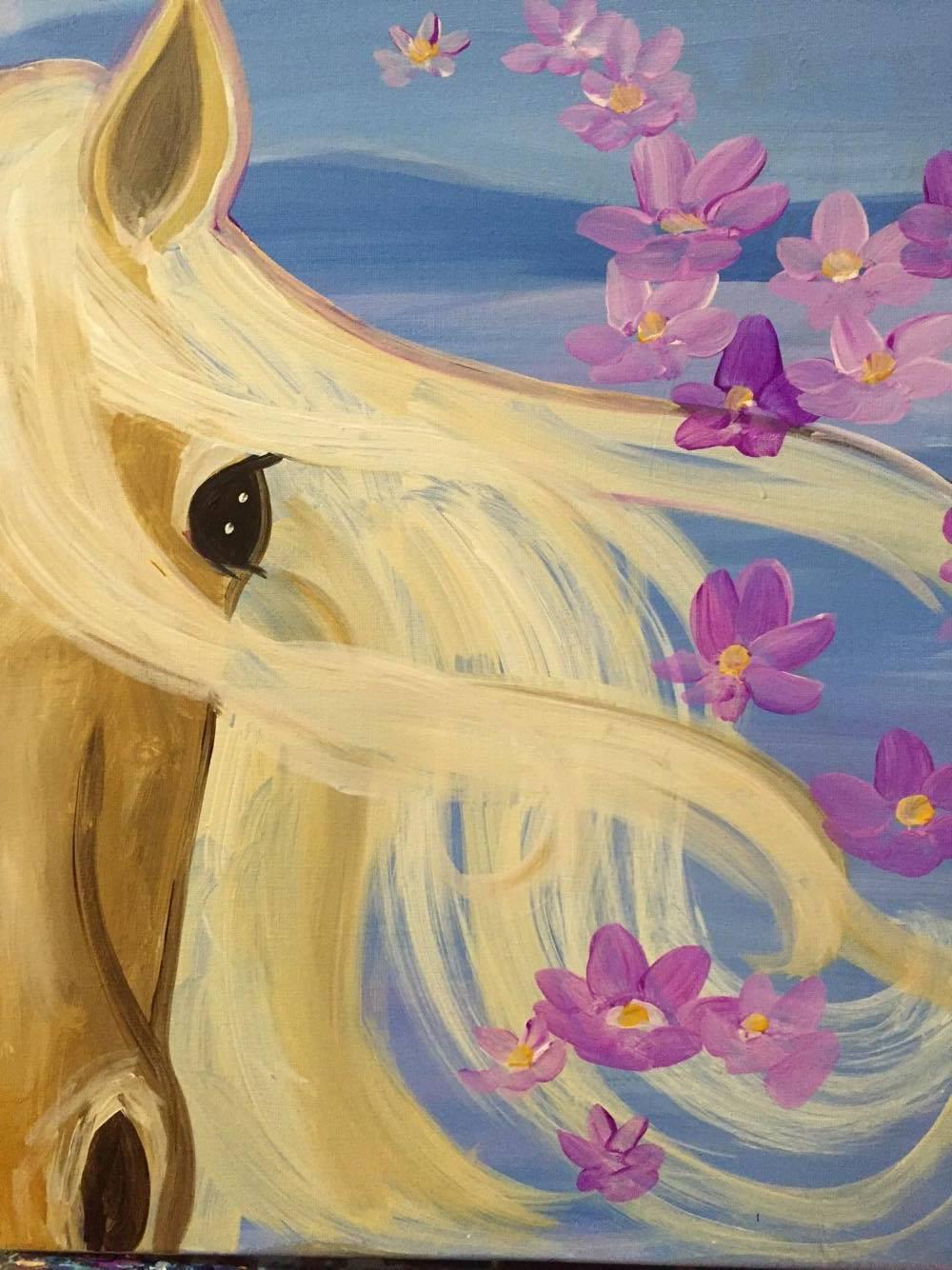 #19 Horse iin Pastels