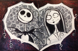 #B1- Jack and Sally Black and White