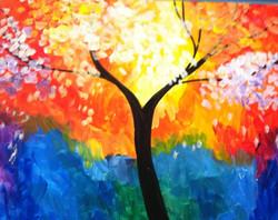 #71- Rainbow Tree
