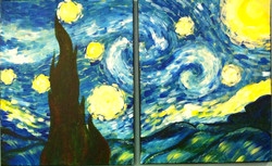 #B32- Starry Night Van Gogh