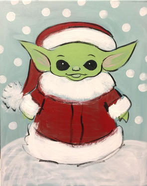 G42 Baby Yoda Santa