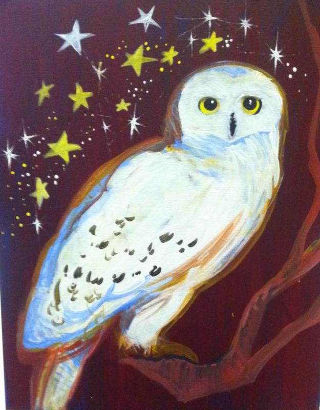 #66- Hedwig Owl