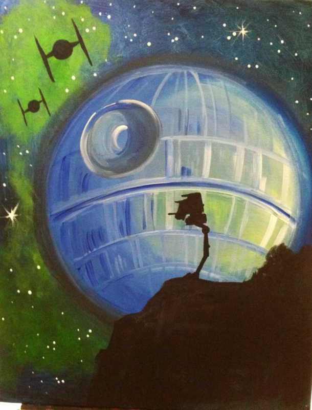 #65- Star Wars Death Star