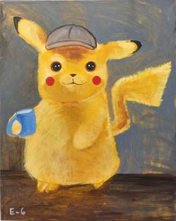 E-8 Pikachu detective