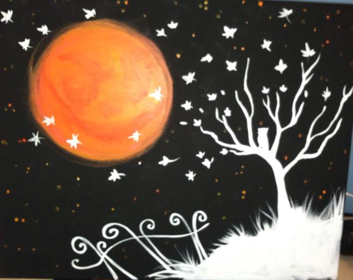 #10 Halloween Moon