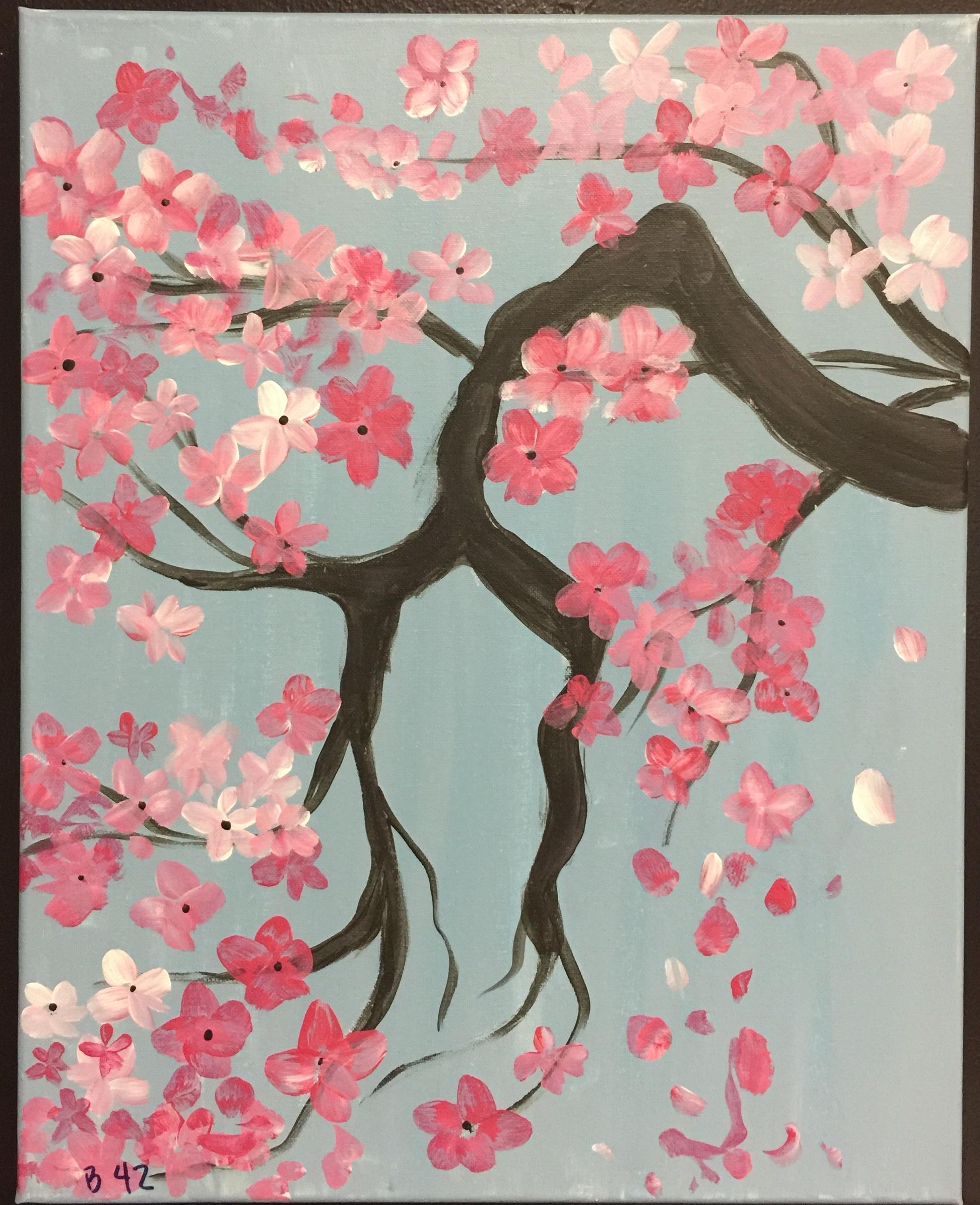 B42 Cherry Blossoms