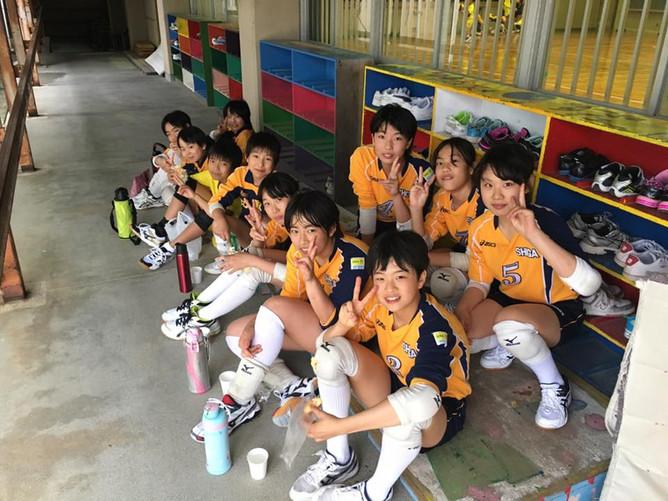 比叡平の小学生バレーボールチーム