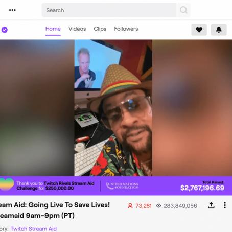 Retour sur 3 lives événements qui ont vu le jour pendant le confinement sur Twitch