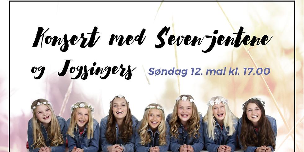 Konsert med Seven jentene