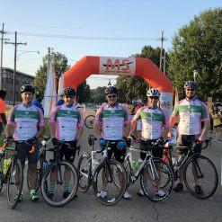 Cahanin participates in Bike MS