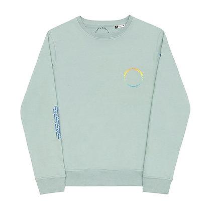 'Créol Brothers' sage sweatshirt