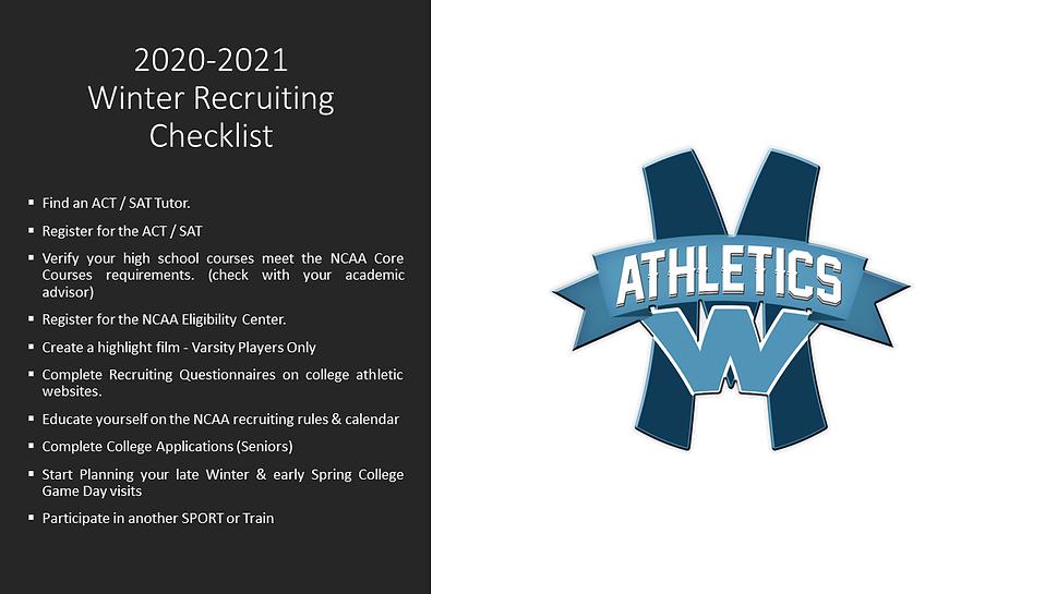 2020 - 2021 MWAA Winter Recruiting Check