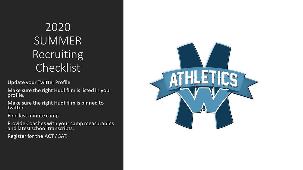 2020 MWAA Summer Recruiting Checklist.pn