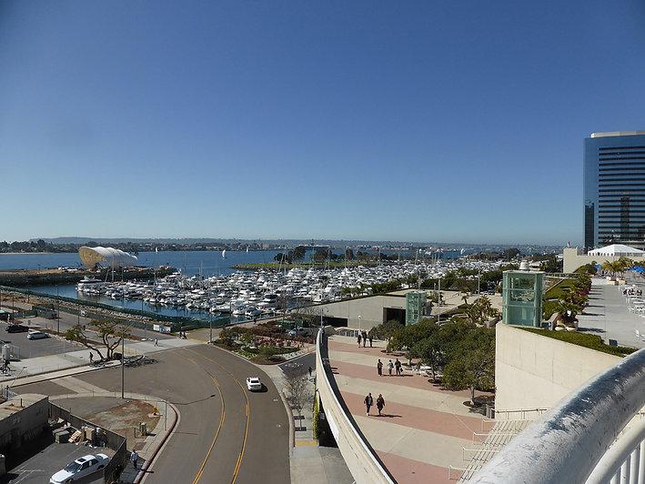 Baie San Diego-Califormie-Copyright P.TR