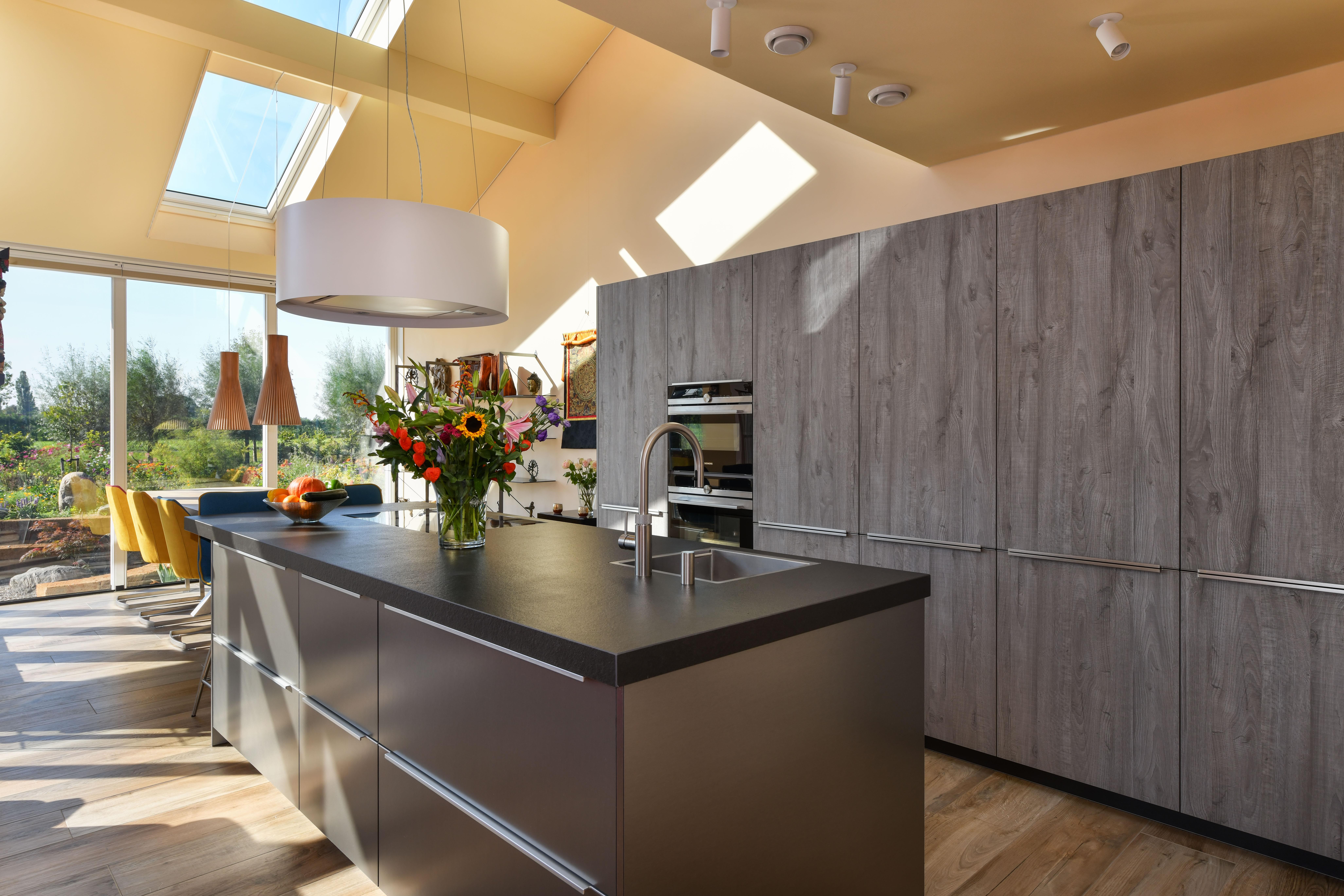 moderne keuken foto