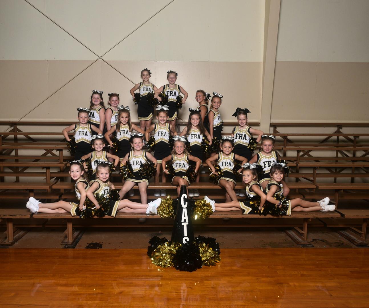 2020 C Team Cheerleaders