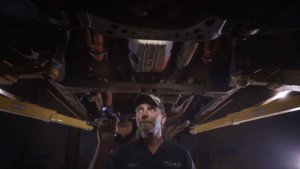 Mechanic at Atlas Automotive Tyler TX