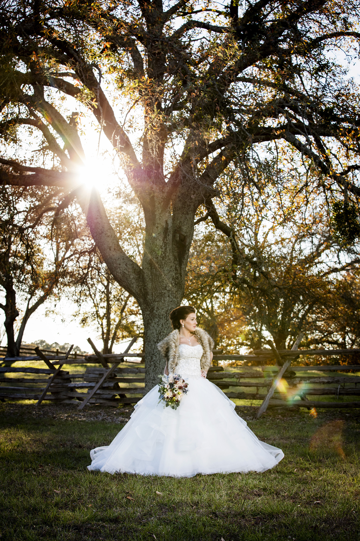 Bridal and Wedding Photography Tyler