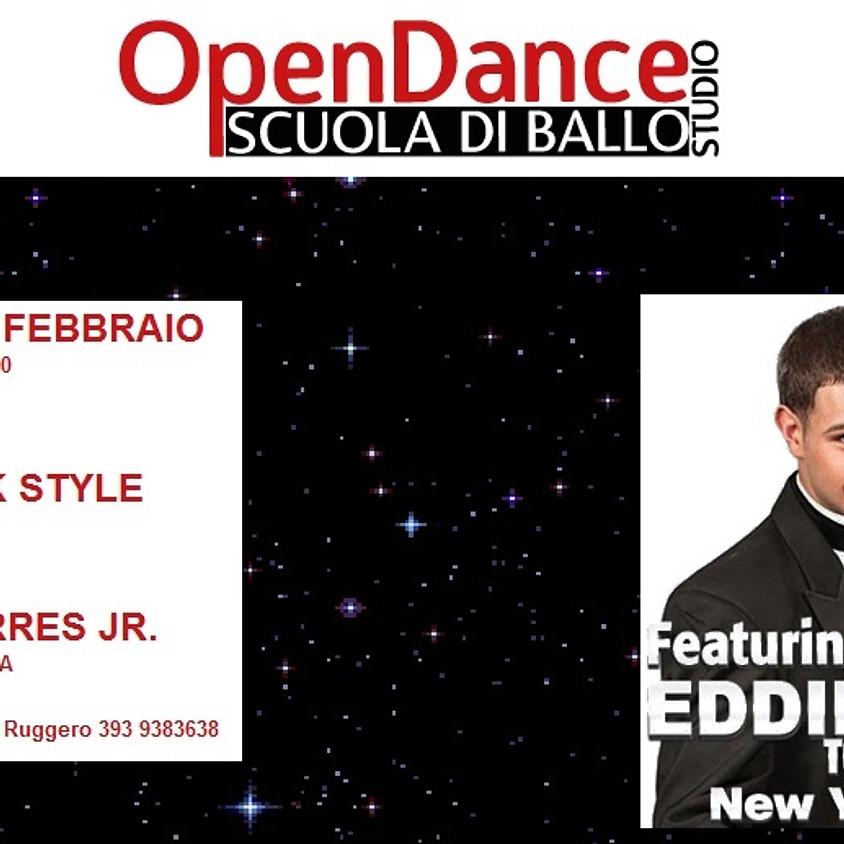 EDDIE TORRES JR. @ OPEN DANCE