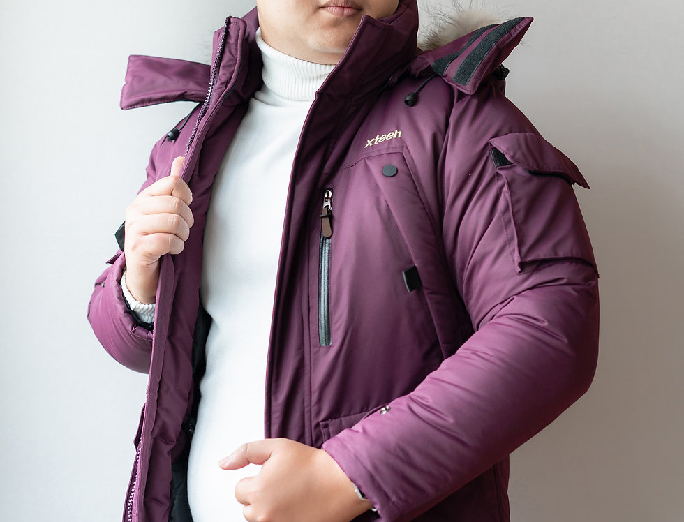 เช่าเสื้อขนเป็ดยาว ชาย รุ่น TRAM (H1,FH1) | DJALEPP