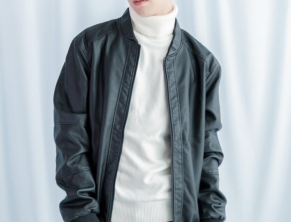 เช่าแจ็คเก็ตสั้น หนังPU ชาย รุ่น BANGKOK | JKACPBK