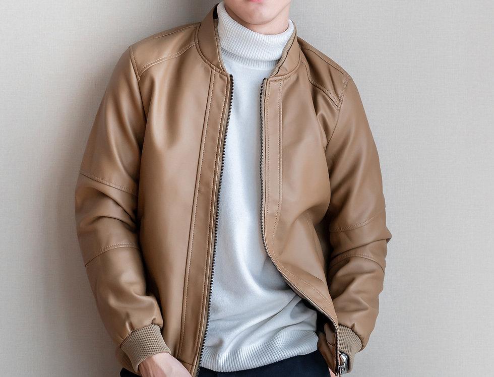 เช่าแจ็คเก็ตสั้น หนังPU ชาย รุ่น BANGKOK | JKACPBE
