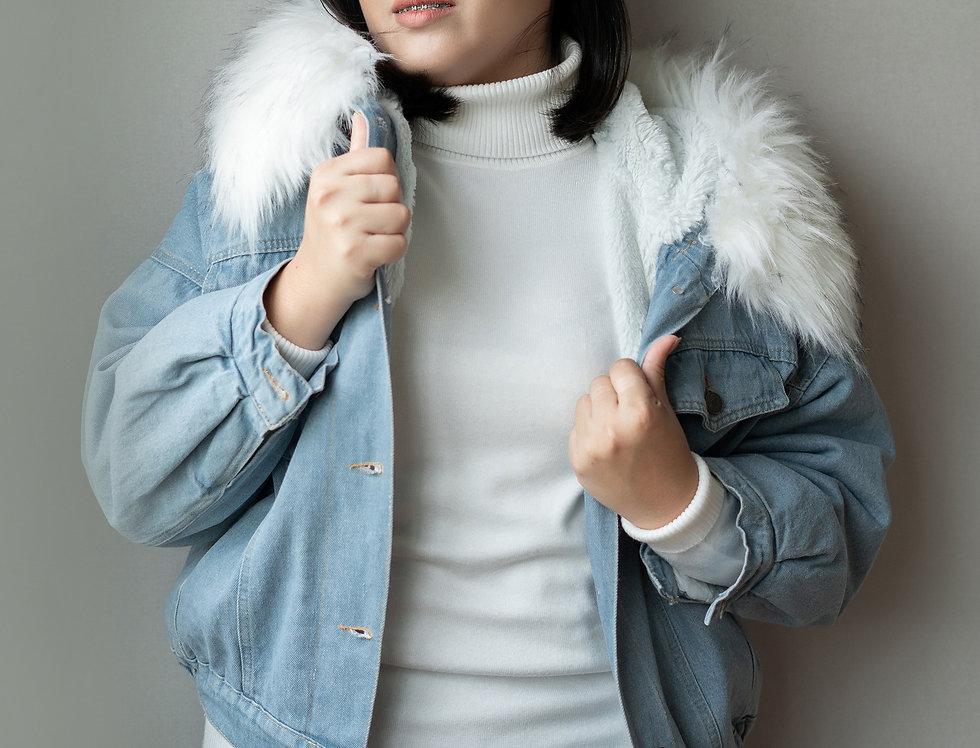 เช่าแจ็คเก็ตยีนส์สั้นหญิง รุ่น ALEX (FH1) | JKANGWH
