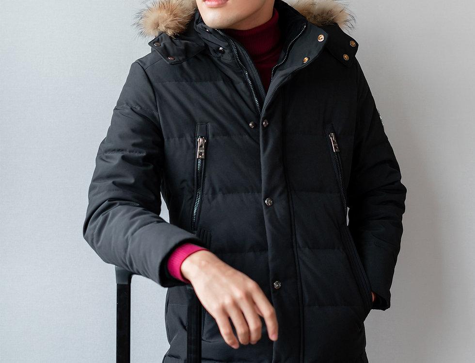 เช่าเสื้อขนเป็ด ยาว ชาย รุ่น PAPILLON (H1,FN1) | DJALXBK