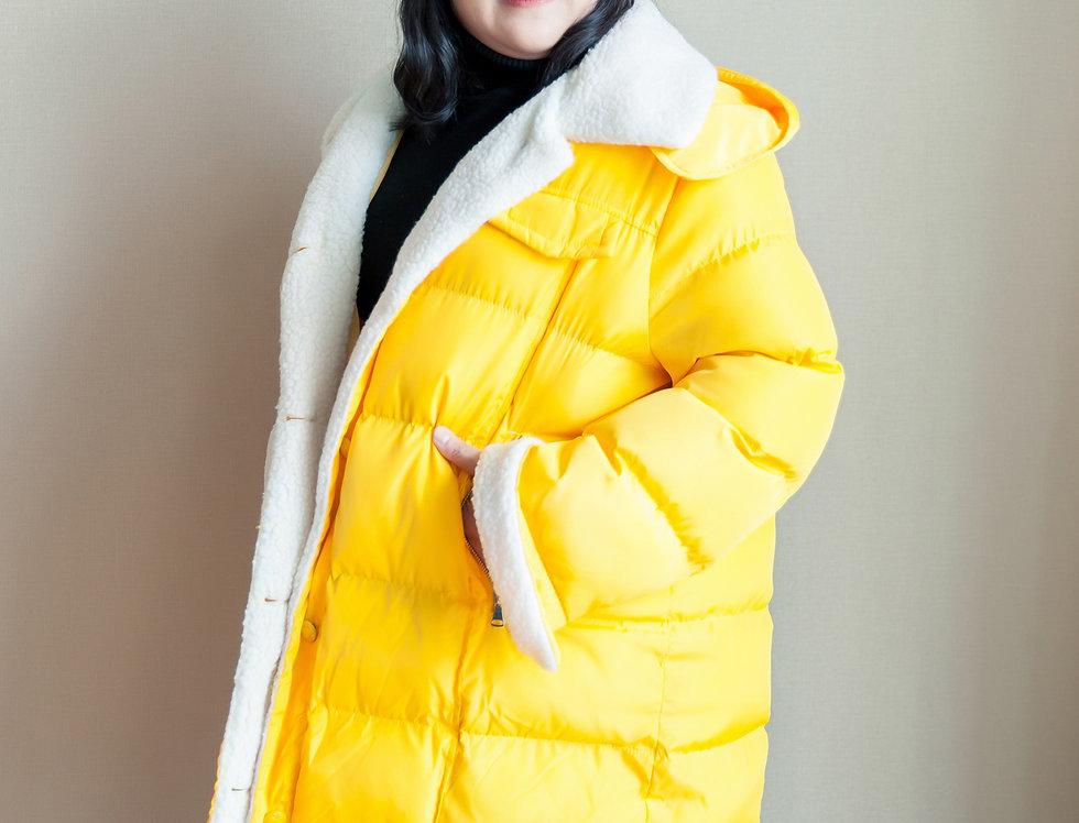 เช่าเสื้อขนเป็ดใหญ่ยาวพิเศษ หญิง รุ่น KOBE (H1) | DJAALYW