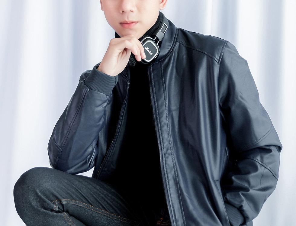เช่าแจ็คเก็ตสั้น หนังPU ชาย รุ่น BANGKOK | JKACPBL