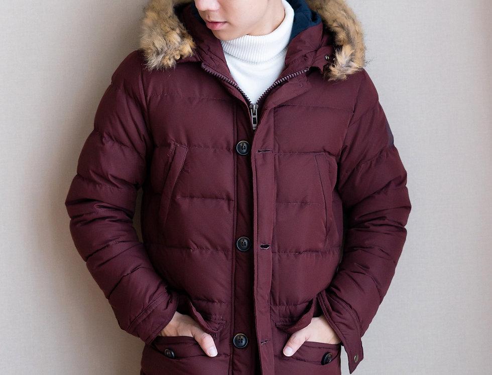 เช่าเสื้อขนเป็ดยาว ชาย รุ่น RED SQUARE (FH1) | DJAHZRW