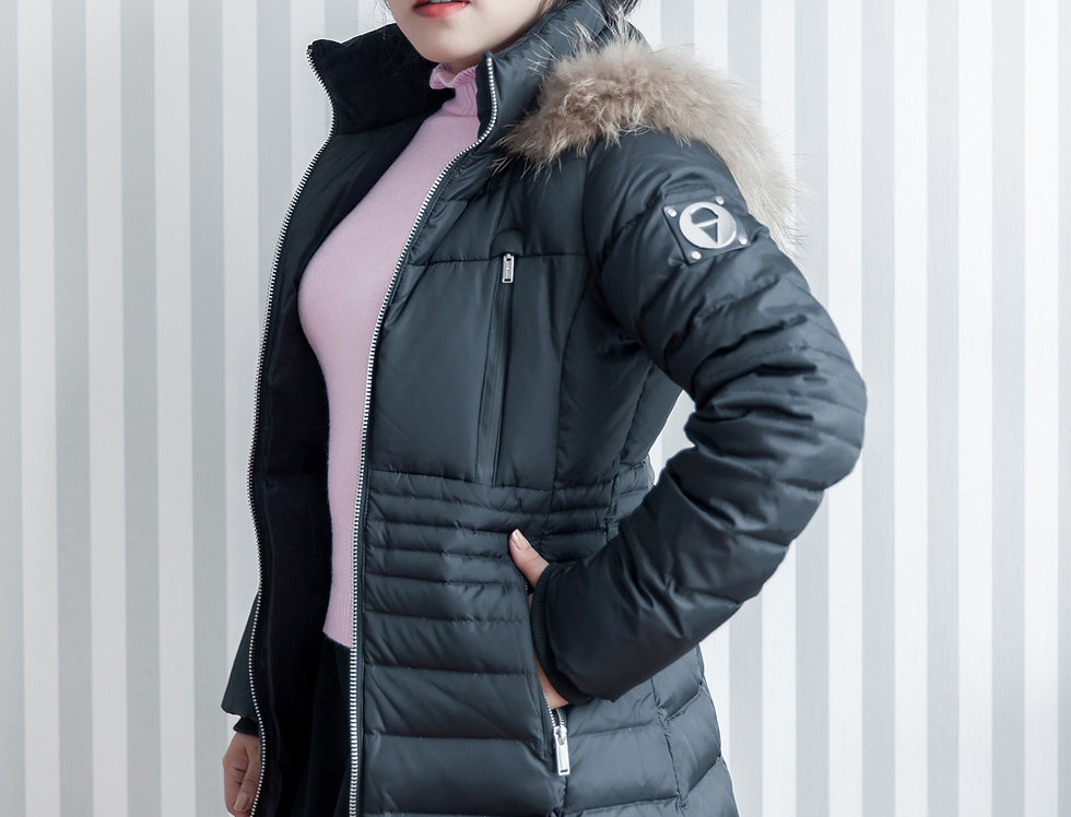 เช่าเสื้อขนเป็ดยาว หญิง รุ่น SOLOMON (H1) | DJABHBK