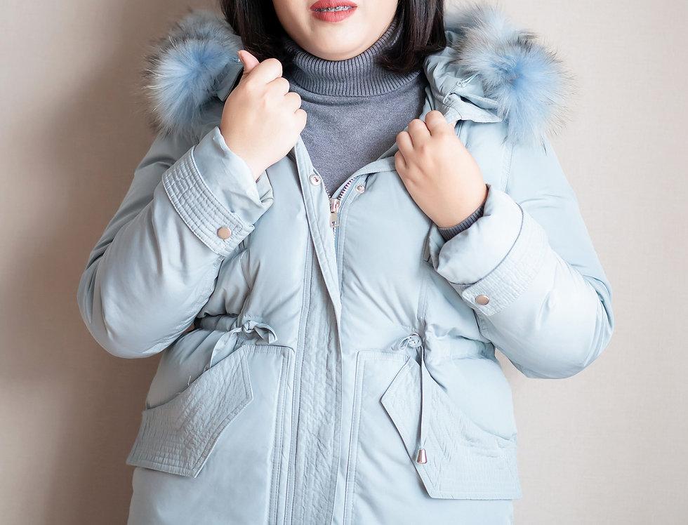 เช่าเสื้อขนเป็ดยาว หญิง รุ่น SWEDEN (FH1) | DJACALB