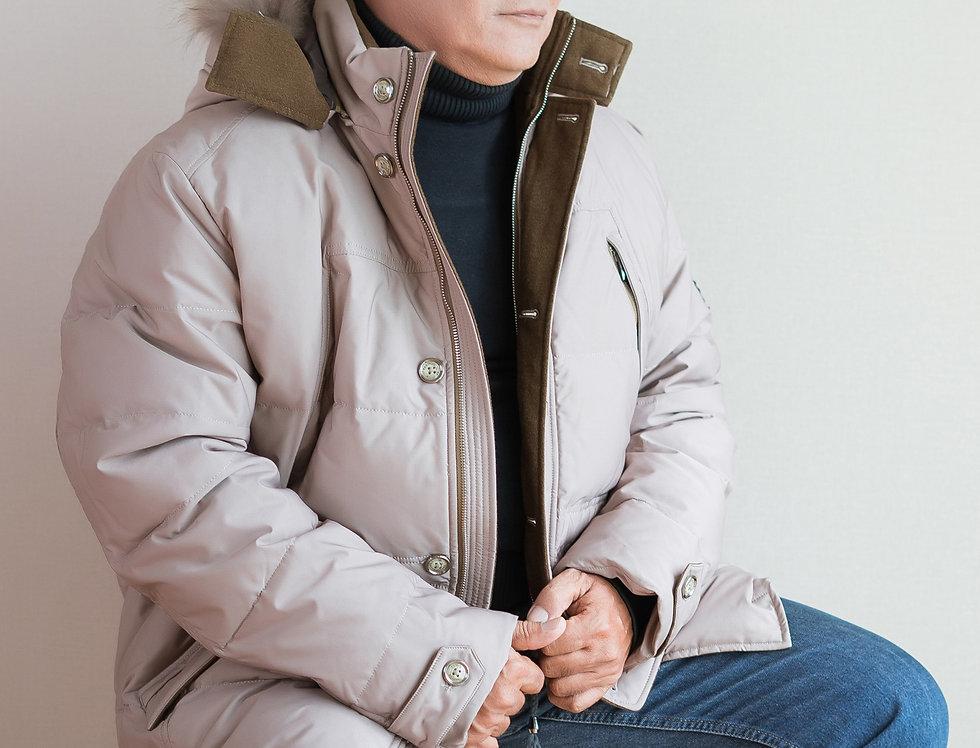 เช่าเสื้อขนเป็ดยาว ชาย รุ่น BUDAPEST   DJAEMBR