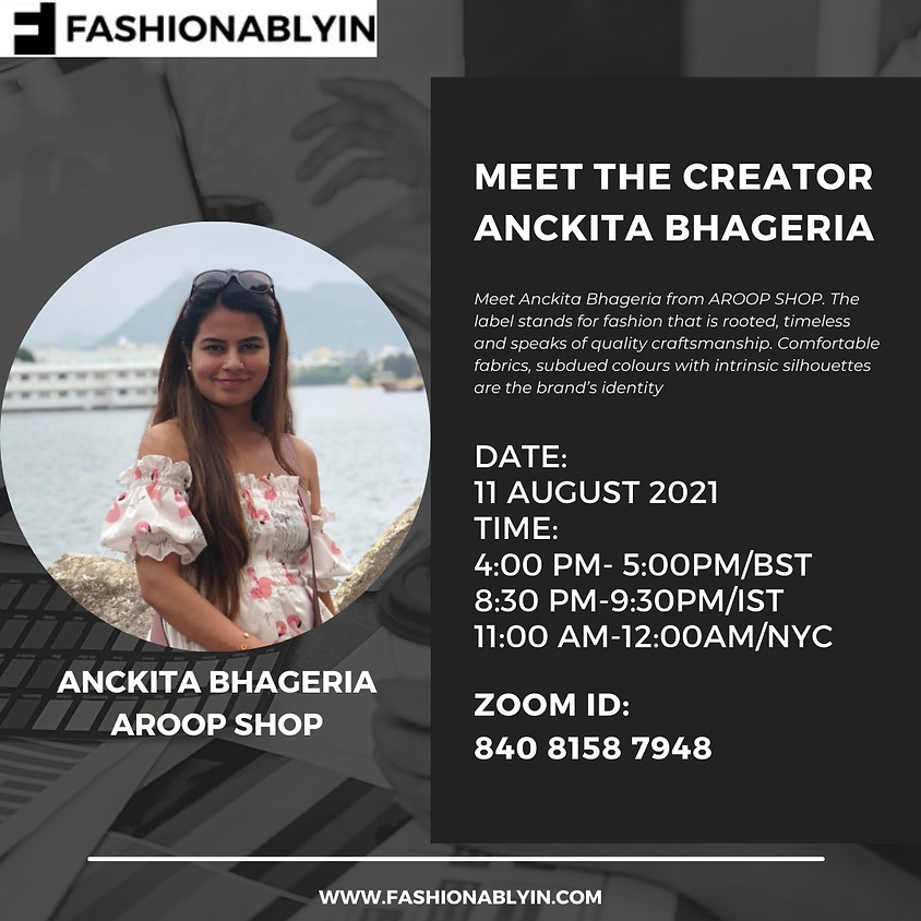 Get to know the Latest Womenswear trends by Anckita Bhageria