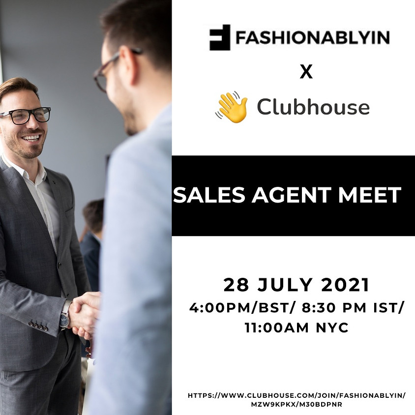 Clubhouse Sales Agent Meet