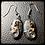 Thumbnail: Picasso Stone Wire Wrapped Swirl Set w/ Swarovski