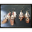 Thumbnail: Earthy Brown Toned Feather Earrings