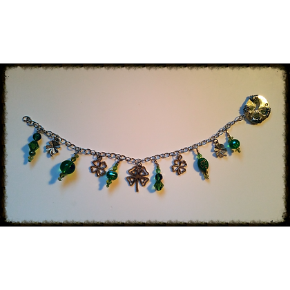 St. Patties Day Charm Bracelet