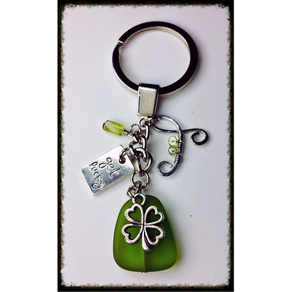 Custom Lucky (or St. Patties Day) Keychain