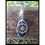 Thumbnail: Compass Rose Agate Slice Keychain