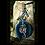 Thumbnail: Seahorse  Agate Slice Keychain