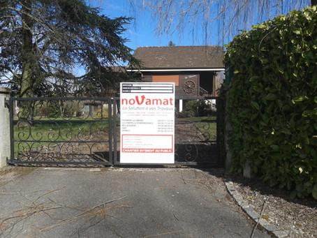 Obtention du permis de construire pour La Saffrenière à Anthy / Planning permission accepted for &qu