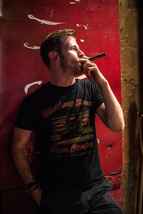 MULBERRY ST CIGARS OFFICIAL T-SHIRTS