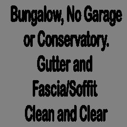 Gutter/Fascia Clear & Clean Bungalow 1/2