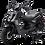 Bms MotorSports Cavalier 150 Matt Black Color