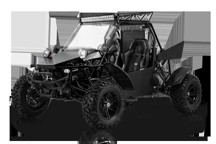 Bms MotorSports V-Twin Buggy 800 2S Black Color