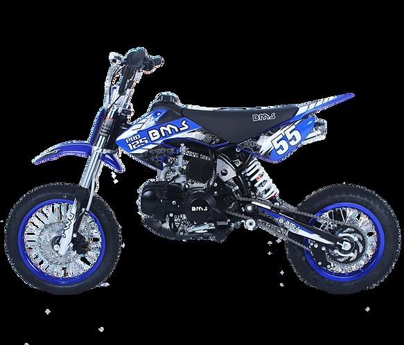 Bms MotorSports Pro 125 Blue Color
