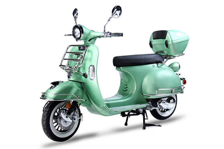Bms Chelsea 150 Scooter Mint Green Color