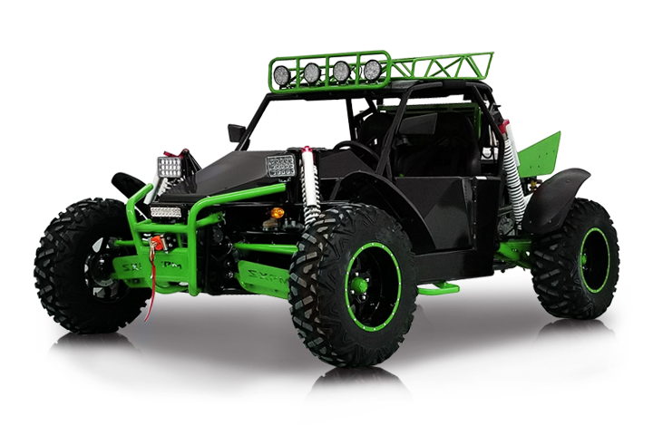 Bms MotorSports Sniper T-1500 2S Green Color